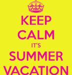 Vacation is important!